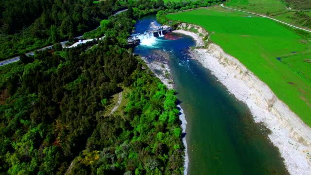 maruia falls - new zealand stock videos & royalty-free footage