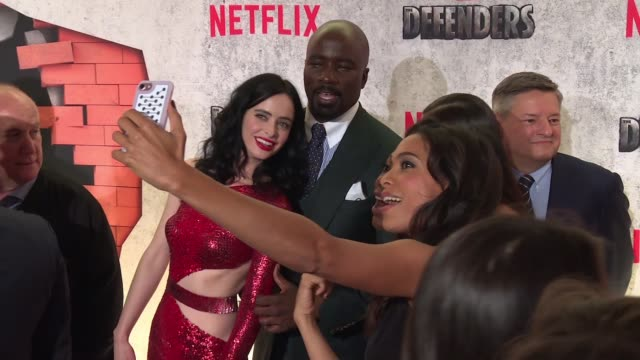 CHYRON – Marvel's The Defenders New York Premiere on July 31 2017 in New York City