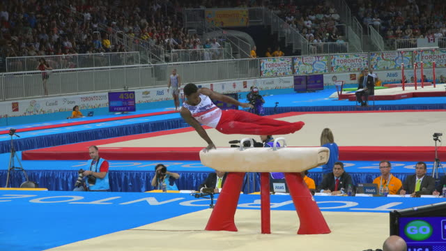 marvin kimble. the 2015 pan american games, officially the xvii pan american games, were a major international multi-sport event celebrated with... - all around competition stock videos & royalty-free footage