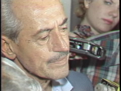 marvin miller, major league baseball players association representative, marvin miller, spoke about how losses were piling up for owners and there... - sport stock videos & royalty-free footage