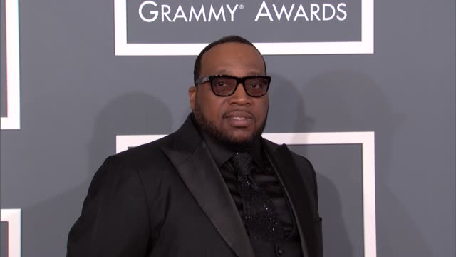Marvin Sapp at The 55th Annual GRAMMY Awards Arrivals in Los Angeles CA on 2/10/13