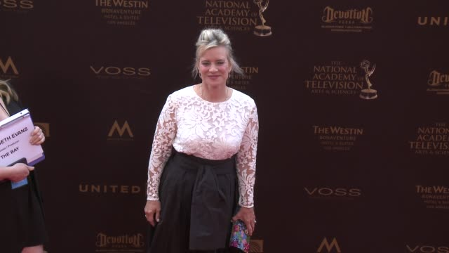 Mary Beth Evans at the 43rd Annual Daytime Creative Arts Emmy Awards at Westin Bonaventure Hotel on April 29 2016 in Los Angeles California