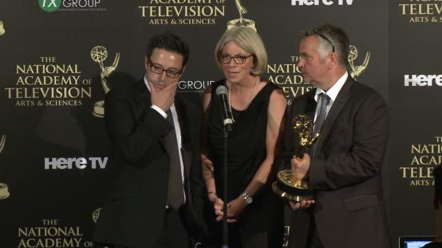 SPEECH Mary Connelly at the 2014 Daytime Emmy Awards Press Room at The Beverly Hilton Hotel on June 22 2014 in Beverly Hills California