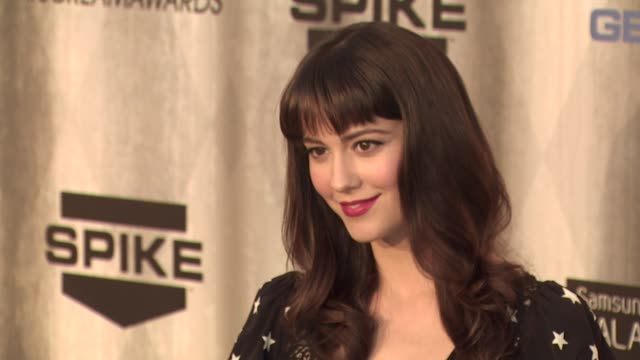 mary elizabeth winstead at the spike tv's 'scream awards at universal city ca - universal city stock videos & royalty-free footage