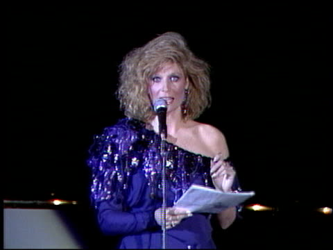 Mary Frann at the Faces International Awards at Hollywood Palladium in Hollywood California on January 25 1987