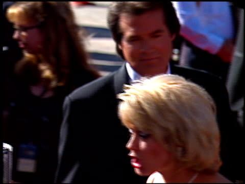 mary hart at the 1996 emmy awards arrivals at the pasadena civic auditorium in pasadena california on september 8 1996 - pasadena civic auditorium stock videos & royalty-free footage