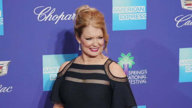 Mary Hart at the 29th Annual Palm Springs International Film Festival Awards Gala at Palm Springs Convention Center on January 02 2018 in Palm...
