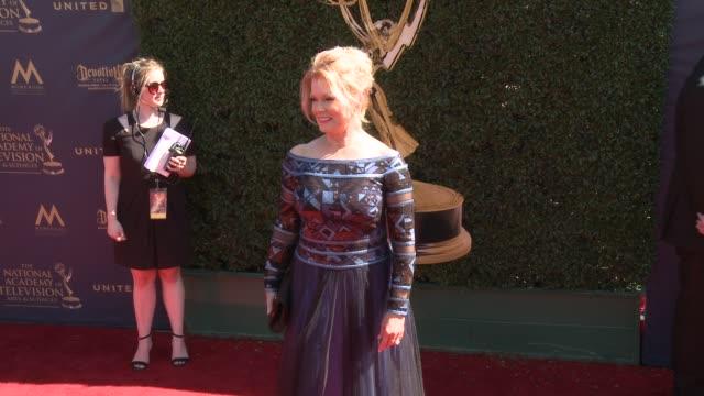 Mary Hart at the 44th Annual Daytime Emmy Awards at Pasadena Civic Auditorium on April 30 2017 in Pasadena California