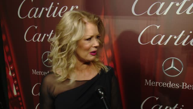 INTERVIEW – Mary Hart on being a part of the festival at the 26th Annual Palm Springs International Film Festival Awards Gala Presented By Cartier on...