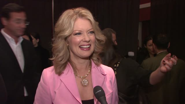 mary hart talking about how she is excited to be included in matt lauer's roast, her run in with matt skiing and how much he deserves the honor. at... - matt lauer stock videos & royalty-free footage