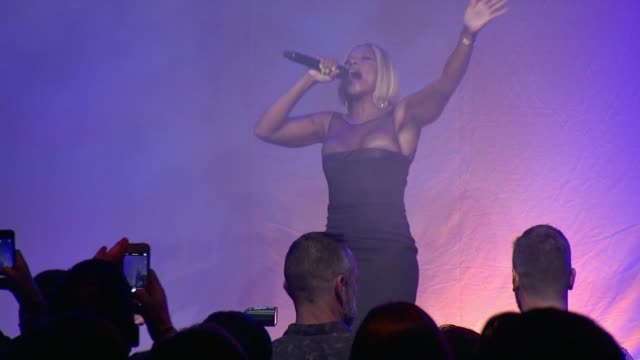 PERFORMANCE Mary J Blige at 2015 amfAR Inspiration Gala New York at Spring Studios on June 16 2015 in New York City