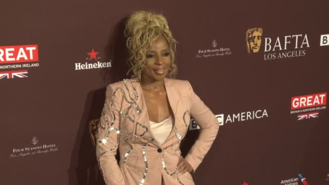 Mary J Blige at 2018 BAFTA Los Angeles Tea Party The Four Seasons Los Angeles at Beverly Hills in Los Angeles CA