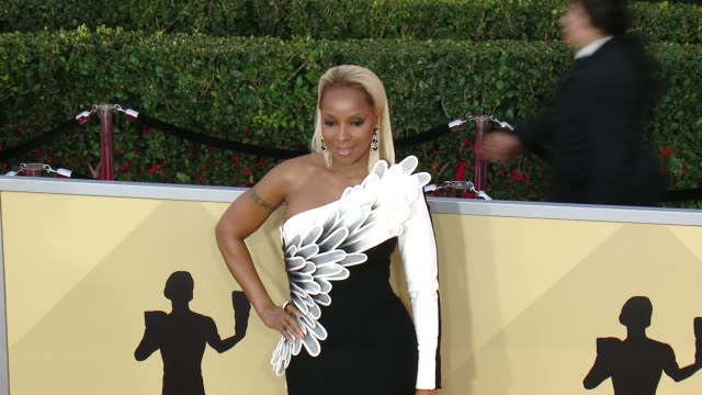Mary J Blige at the 24th Annual Screen Actors Guild Awards at The Shrine Auditorium on January 21 2018 in Los Angeles California