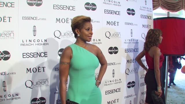 mary j blige at the 3rd annual essence black women in hollywood luncheon at beverly hills ca - aromatherapy stock videos & royalty-free footage