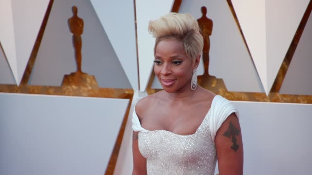 Mary J Blige at the 90th Academy Awards Arrivals at Dolby Theatre on March 04 2018 in Hollywood California