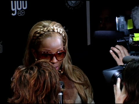 vídeos de stock, filmes e b-roll de mary j blige at the dons and diva's black party hosted by mary j blige and presented by wendy williams at crobar in new york, new york on december... - crobar