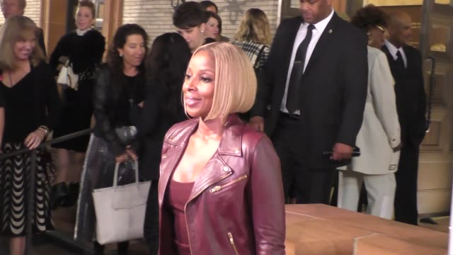 mary j blige at the wallis annenberg center for the performing arts presents us premiere of debbie allen's freeze frame in beverly hills in celebrity... - debbie allen stock videos & royalty-free footage