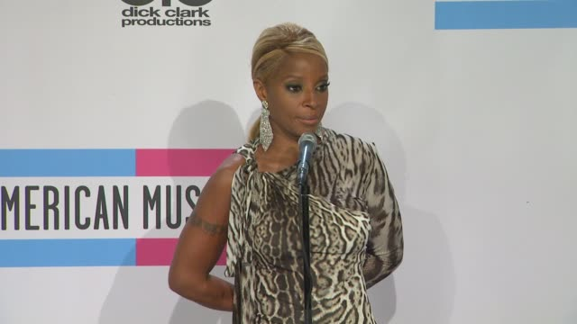 mary j blige on if she thinks her song from 'the help' will be nominated on heavy d passing on her style on her new album tour and movie and on her... - popular music tour stock videos and b-roll footage