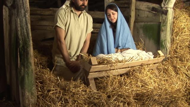 "Mary, joseph & Baby Jesus Nativity (""Christmas story"