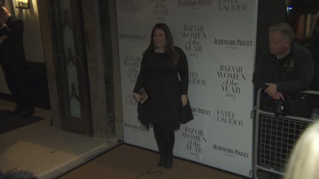 Mary Katrantzou at Harper's Bazaar Women of the Year Awards at Claridge's Hotel on November 03 2015 in London England