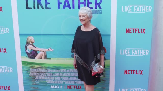 """mary looram at the """"like father"""" los angeles premiere at arclight cinemas on july 31, 2018 in hollywood, california. - arclight cinemas hollywood stock videos & royalty-free footage"""