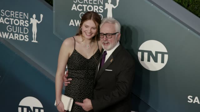 mary louisa whitford and bradley whitford at the 26th annual screen actorsguild awards at the shrine auditorium on january 19, 2020 in los angeles,... - bradley whitford stock videos & royalty-free footage