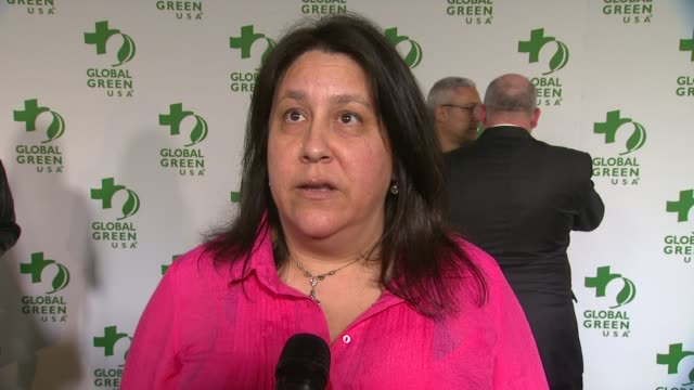 mary luevano working with global green at the global green usa 11th annual pre-oscar® partyat avalon on february 26, 2014 in hollywood, california. - oscar party stock videos & royalty-free footage