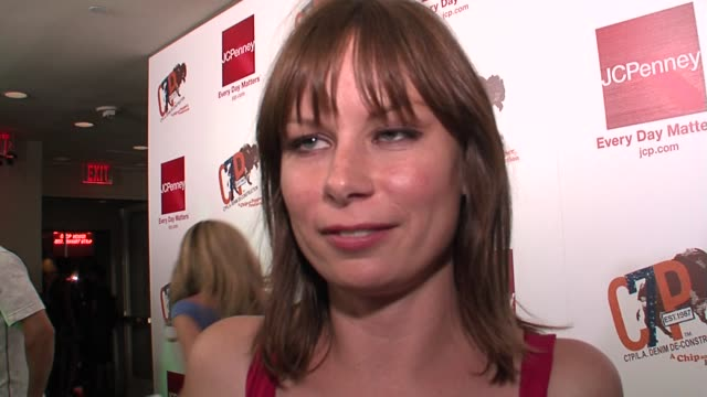 Mary Lynn Rajskub on being new to Chip and Pepper looking forward to seeing the new line and having the summer off on 24 at the Rachel Bilson Hosts...