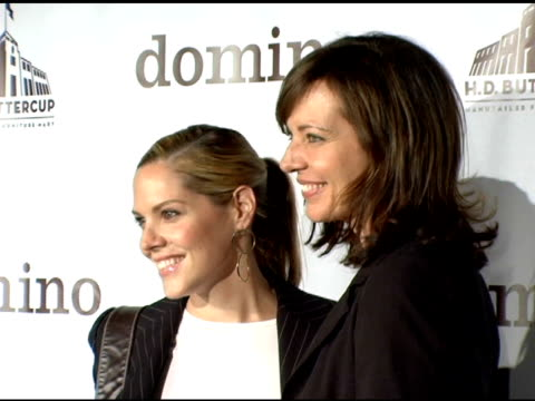 Mary McCormack and Allison Janney at the VIP Shopping Event to Kick Off Shopping Extravaganza CoHosted by Domino Magazine at HD Buttercup in Culver...