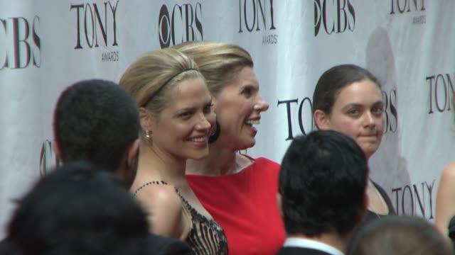 Mary McCormack and Christine Baranski at the 62nd Annual Tony Awards at New York NY
