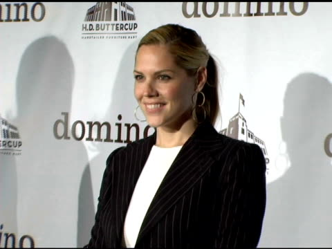 stockvideo's en b-roll-footage met mary mccormack at the vip shopping event to kick off shopping extravaganza cohosted by domino magazine at hd buttercup in culver city california on... - ranonkel