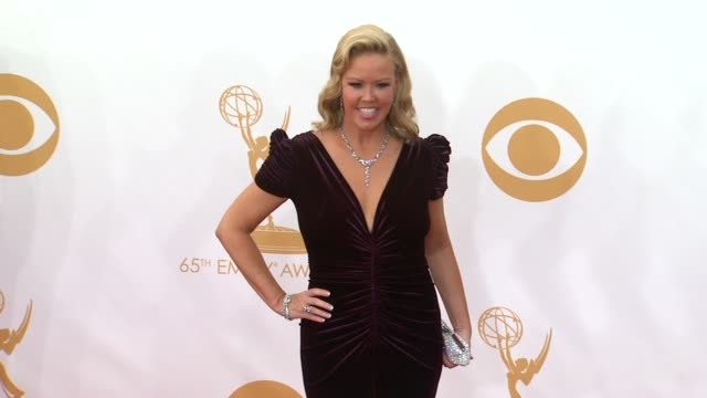 mary murphy at 65th annual primetime emmy awards - arrivals on 9/22/2013 in los angeles, ca. - annual primetime emmy awards stock-videos und b-roll-filmmaterial
