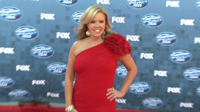mary murphy at the fox's 'american idol 2011' finale results show at los angeles ca - results show stock videos & royalty-free footage