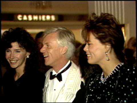 mary steenburgen at the amnesty international party at the beverly hilton in beverly hills california on september 16 1986 - mary steenburgen stock videos & royalty-free footage