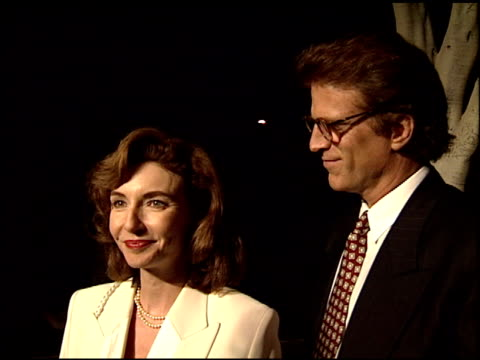 mary steenburgen at the apla commitment to life at universal amphitheatre in universal city california on january 19 1995 - mary steenburgen stock videos & royalty-free footage