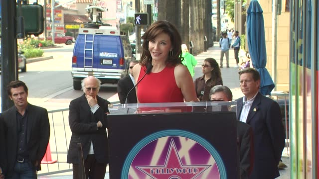 mary steenburgen at the mary steenburgen honored with a star on the hollywood walk of fame at hollywood ca - mary steenburgen stock videos & royalty-free footage