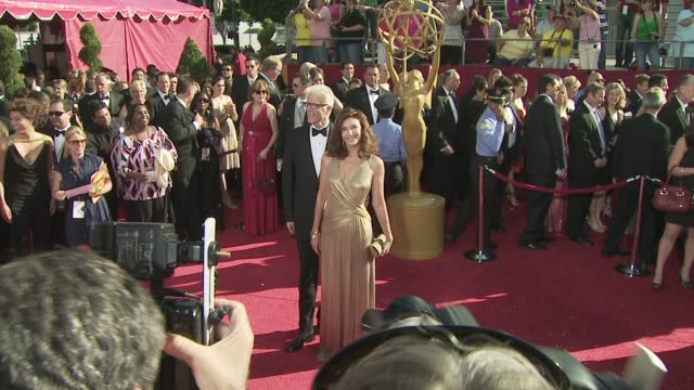 vídeos de stock, filmes e b-roll de mary steenburgen ted danson at the 60th primetime emmy awards at los angeles ca - ted danson