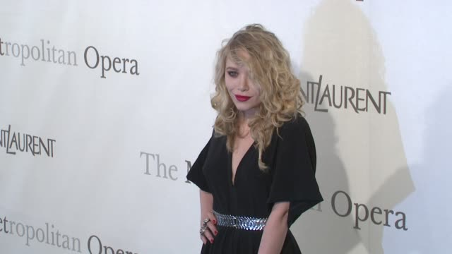 MaryKate Olsen at the The Metropolitan Opera's 125th Anniversary Gala at New York NY