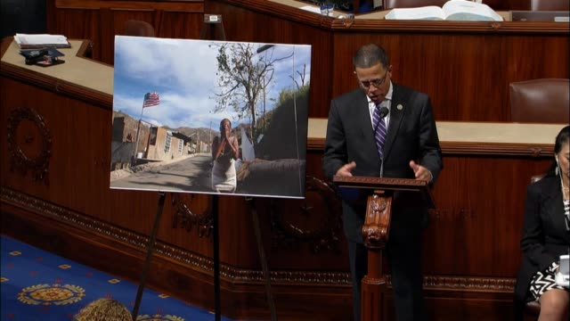 maryland congressman anthony brown argues three weeks after hurricane maria struck puerto rico and the virgin islands it is hard to tell where they... - comfort food stock videos & royalty-free footage