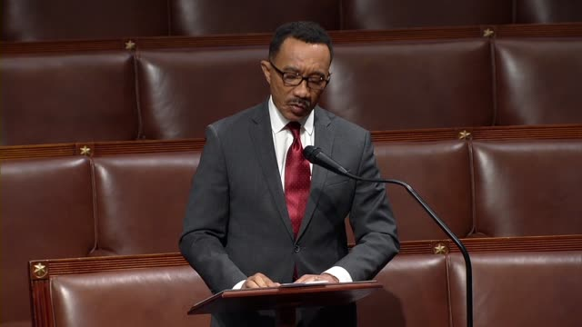 maryland congressman kweisi mfume says in floor debate on the george floyd justice in policing act that he listened intently to a litany by the... - out of context stock videos & royalty-free footage