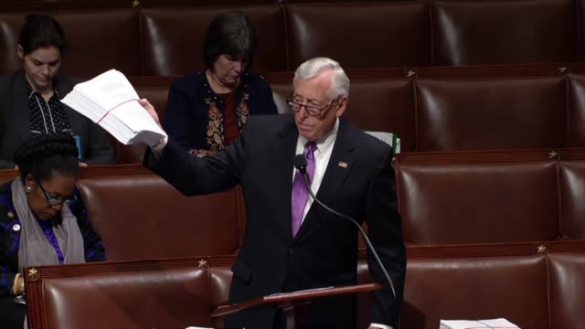 Maryland Congressman Steny Hoyer says in debate on a sixmonth a spending bill that it contains earmarks called authorizing language that nobody in...