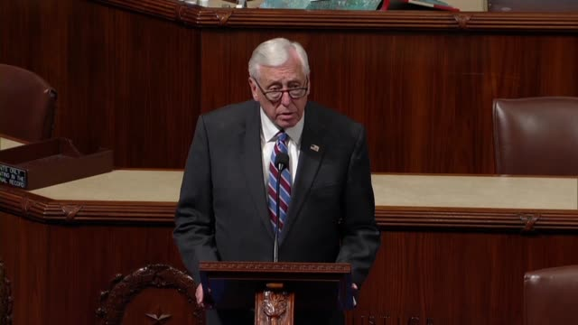 maryland congressman steny hoyer says the day after a high school shooting in his district that the nation are suffering from a crisis of gun... - national rifle association stock videos & royalty-free footage