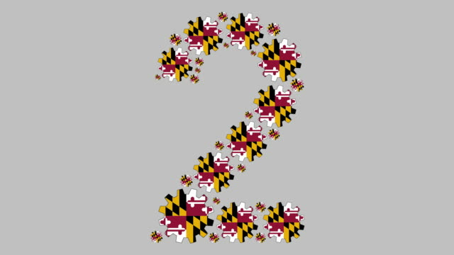 maryland number two - maryland us state stock videos & royalty-free footage