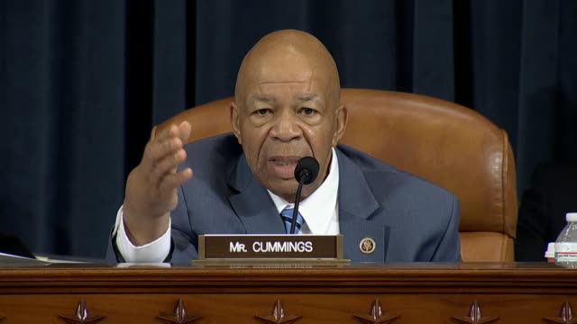 Maryland Rep Elijah Cummings a member of the House Select Committee on Benghazi expresses outrage at accusations made against the integrity of former...