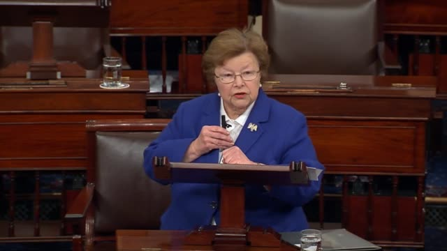 maryland senator barbara mikulski describes the origin of regular dinners held for the women of the senate which have stood the test of time,... - ジョージ バーナード ショー点の映像素材/bロール