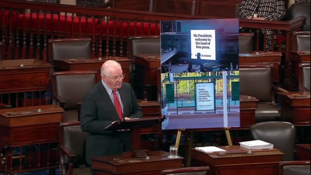 maryland senator ben cardin says americans are left to wonder whether president donald trump agrees with russian president vladimir putin's view of... - thomas jefferson stock videos & royalty-free footage