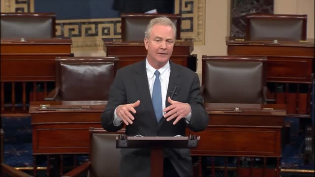 Maryland Senator Chris Van Hollen delivers his first speech on the Senate floor saying that the rush to repeal Obamacare is irresponsible that...