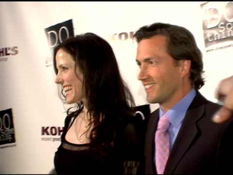 mary-louise parker and andrew shue at the 2006 brick awards from do something in celebration of young social entrepreneurs and celebrity and... - do something awards stock videos & royalty-free footage