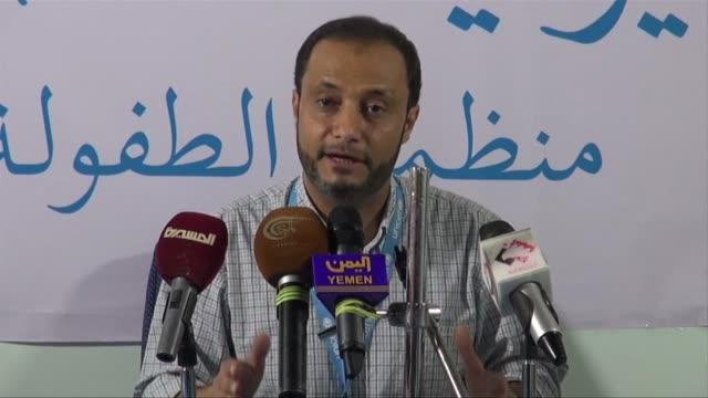 mas de 10 millones de ninos necesitan ayuda humanitaria en yemen informo unicef el lunes al tiempo que la onu anuncio un alto al fuego en el pais que... - guerra civil stock videos and b-roll footage