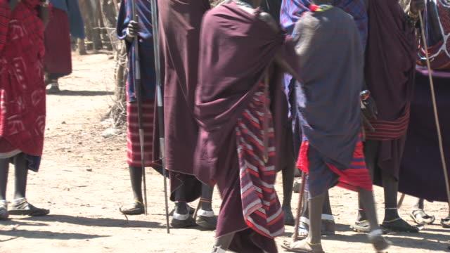 masai warriors - masai stock videos and b-roll footage